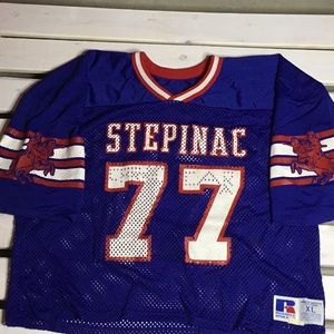 Vintage Red Knights Football Jersey